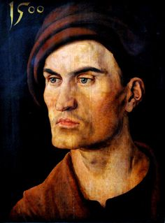 Albrecht Dürer - Portrait of Jungen Mannes, 1500 at Alte Pinakothek in Munich Germany by mbell1975, via Flickr