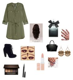 promise me everything by liliforeverz on Polyvore featuring polyvore, fashion, style, H&M, Bamboo, MICHAEL Michael Kors, Clarins, Rimmel, Marc Jacobs, Torrid, WigYouUp, women's clothing, women's fashion, women, female, woman, misses and juniors
