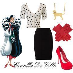 """""""Modern Cruella DeVille"""" by wonderland449 on Polyvore"""