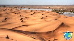 Destinos na África - Foto das Dunas de Erg Chebbi em Marrocos