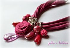 pietre e dintorni: Red necklace