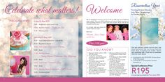 Pages of Conference Booklet Booklet, Conference, Celebrities, Beauty, Celebs, Beauty Illustration, Celebrity, Famous People