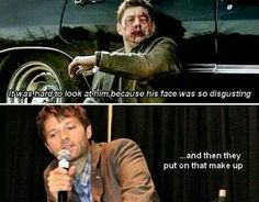 Misha burns!!! <3