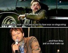 Misha burns!!! <3