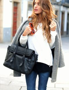 . Autumn Street Style, Winter Style, Autumn Winter Fashion, Fall Winter, Estilo Blogger, Blogger Style, Style Watch, Winter Trends, Outfit Goals