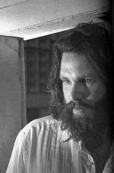 Jim Morrison during the LA Woman sessions, 1971. Photo by Edmund Teske.