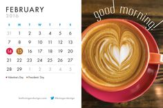 Happy February and Good Morning! Even if you're not a coffee drinker, we hope this image makes you feel warm and cozy in the midst of winter! Beth Singer Design: helping those who do good, do better.