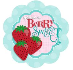 Printable Berry Cherry Cards | Tip Junkie