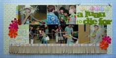 luau scrapbook layouts | Thursday, August 19, 2010