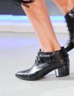 Rodarte Black-boot NY fashion week ss 2014