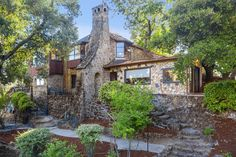 Stunning Carr Jones Historic California Castle – CIRCA Old Houses Sister Home, Old Houses For Sale, House With Porch, Heated Pool, Historic Homes, Virtual Tour, Custom Homes, The Neighbourhood, Real Estate