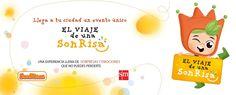 SMConectados presenta mañana miércoles 27 de abril en el Auditorio de la Feria de Valladolid #ElviajedeunaSonrisa, un evento dirigido a profesores de Educación Infantil que les permitirá participar en una experiencia única e irrepetible y cuyos protagonistas serán los grandes retos para esta etapa, la música y las sonrisas.