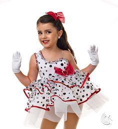 Girls Dalmatian Costume |Dalmation Dance Costume
