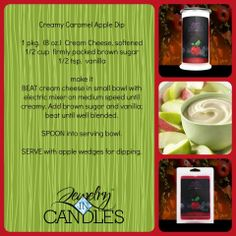Check out this amazing recipe.  The perfect compliment to your Apple Harvest candle!  Order yours today: www.jewelryincandles.com/store/warhawk  For more great recipes like and share my Facebook page: www.facebook.com/warhawksjewelryincandles