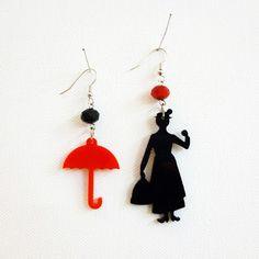 Mary Poppins earrings V I A V A I . Move your style. buy online http://www.viavaitorino.com/eshop.html
