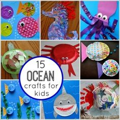 ocean crafts theme