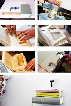 https://www.otto.de/roombeez/regal-bauen-aus-einem-buch/642/ Ein unsichtbares Bücherregal. Ich finde die ideee Total geil😍