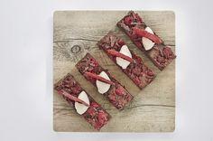 Fork buffet dessert - Chocolate & raspberry pavé