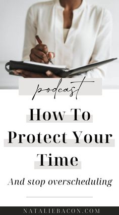 I'm showing you how to stop overscheduling and start being more protective of your time. Discover the importance of scheduling white space for yourself, and what can happen when you stop overscheduling and start prioritizing your peace and wellbeing. Design Your Life, Love Your Life, How To Protect Yourself, Improve Yourself, Self Development, Personal Development, Anger Quotes, Quit Drinking, Life Coaching Tools
