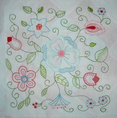 Hazel's Summer Wildflowers, Block 3 « The Life of Hazel Ilene