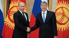 Пресс-конференция В. Путина и А. Атамбаева