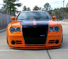 Purple and Orange 300