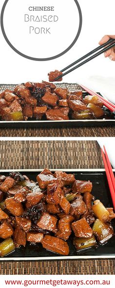 MMMmm Delicious Pork Belly I LOVE you! This is a favourite recipe and so simple! #Chinese #recipe #pork #not-healthy