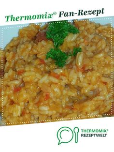 Ein Thermomix ® Rezept aus der Kategorie Ha… Paprika – tomato rice from nickiwin. A Thermomix ® recipe from the main course with vegetables category www.de, the Thermomix® Community. Pork Chop Recipes, Meatloaf Recipes, Rice Recipes, Seafood Recipes, Asian Recipes, Crockpot Recipes, Vegetarian Recipes, Ethnic Recipes, Rissoto Thermomix