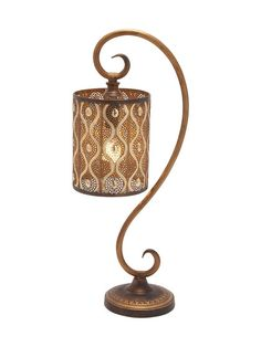 Rustic Table Lamps (Set of 2) by UMA at Gilt