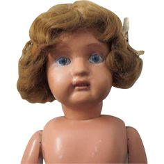 "Dolly face Schoenhut girl - 23"", no clothes"