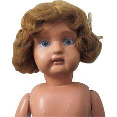 """Dolly face Schoenhut girl - 23"""", no clothes"""
