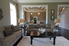 Living room but would be family room