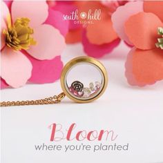 Are u ready for spring? Our Spring Locket sure will get u ready!