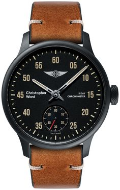 Christopher Ward C1 Morgan Chronometer Watches Watch Releases