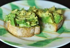 alternate recipe:  Country Kitchen 12 grain toast, avocado mashed up w/ sea salt, pepper, and fresh basil, tomato, and paprika.