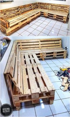 Reusing or reusing timber pallets into inside or outside home furnishings has grown to be highly regarded with people around the world. #Sofapallet