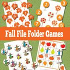 Lots of free printable file folder games for every season