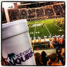 Wiseguys Daiquiris in Hammond, LA!   Southeastern Louisiana University football game!  Daiquiris and Football...only in Louisiana!