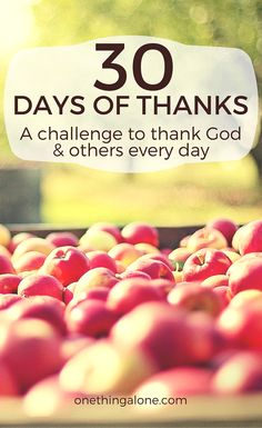 This 30 Days of Thanks Challenge Calendar is perfect to help me thank the important people in my life!