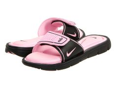 Nike Comfort Slide Black/Perfect Pink - Zappos.com Free Shipping BOTH Ways