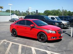 Sweet new Chevy Cruze with some custom mods. Chevy Cruze Custom, Chevrolet Cruze, 2014 Chevy, New Chevy, My Dream Car, Dream Cars, Car Accessories For Guys, Chevy Girl, Gm Car