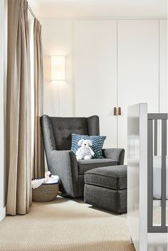 Add comfort and functionality to your baby's nursery with our Wren glider.