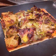 Pizza Poireaux Pomme de terre | Tambouille & Délices
