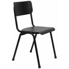 Buy The Back To School Outdoor Chair - Black by Zuiver Online UK. Designer Outdoor Chair - Black from Zuiver's Back To School collection. School Chairs, Outdoor School, Grey Chair, Folding Chair, Retro Design, Flamingo, Outdoor Chairs, Back To School, Modern