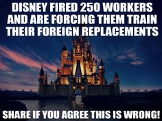 This is an example of a social media graphic meant to spread awareness for the Disney Boycott.