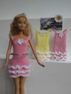 Barbie Clothes, Rara Dress £3.75