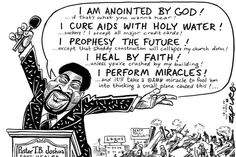 "Zapiro: ""Prophet"" TB Joshua the miracle healer - Mail & Guardian"