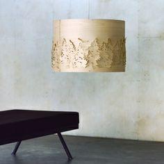 Norwegian Forest lamp by Catherine Kullberg