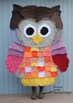 Quilt, try making a quilt like this one for your little one.