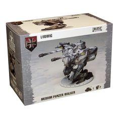 Dust Tactics: Axis - Medium Panzer Walker (Ludwig)